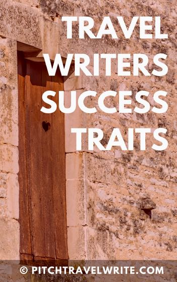 travel writers success traits link