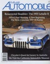 Classic Automobile cover about classic car museum