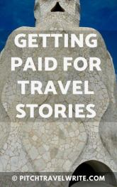 getting paid for travel stories