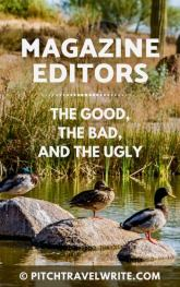 magazine editors - the good, the bad, and the ugly
