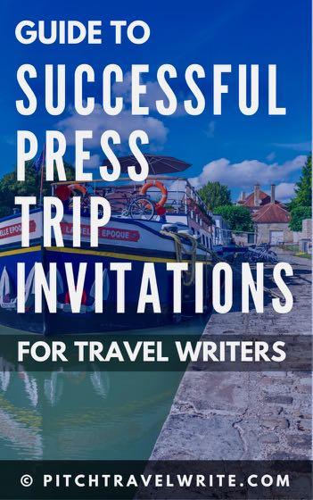 successful press trip invitations