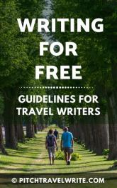 writing for free guidelines for travel writers