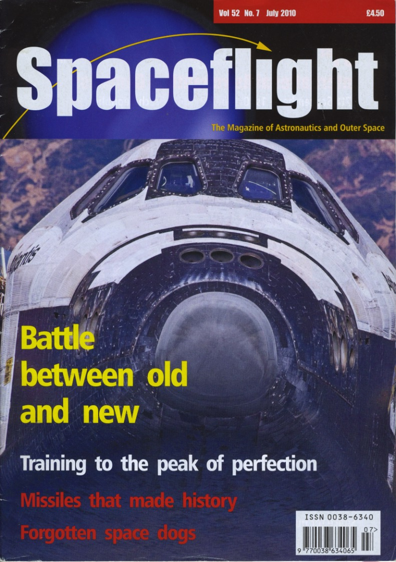 travel stories can be published in Spaceflight magazine