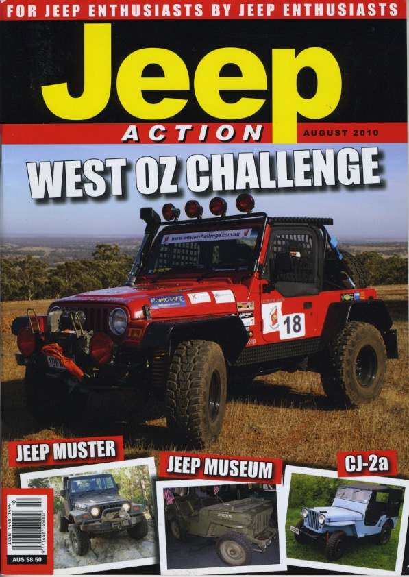 travel stories might fit in Jeep Action magazine