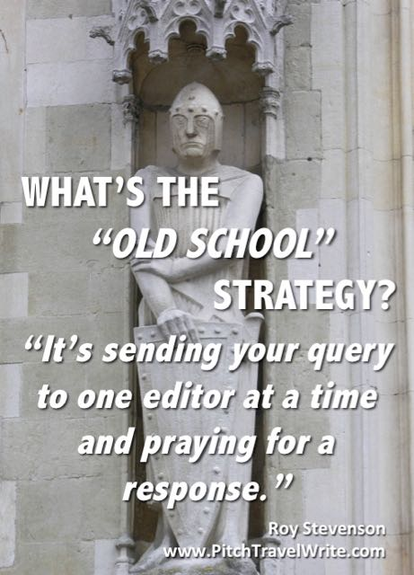 old school strategy for query letters