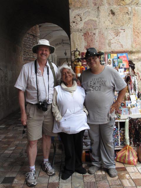 travel writer Roy Stevenson in Quito Ecuador