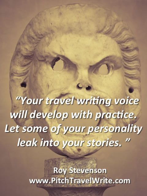 your travel writing