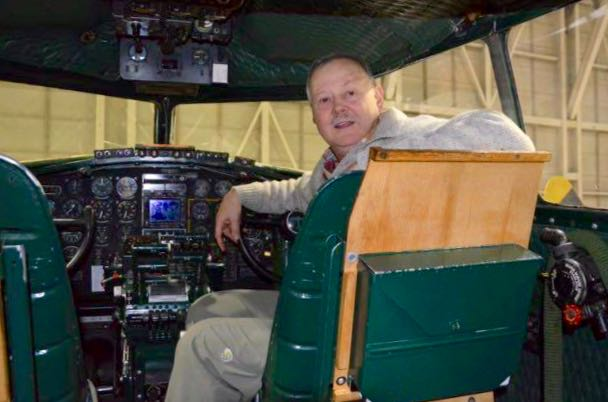 Flying a C-47 in Ann Arbor press tour