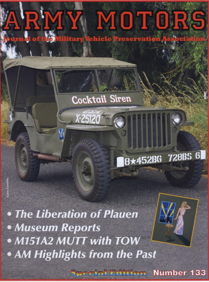 Army Motors cover about vehicle museum