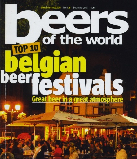 Article about top 10 Belgian beer festivals in Beers of the World