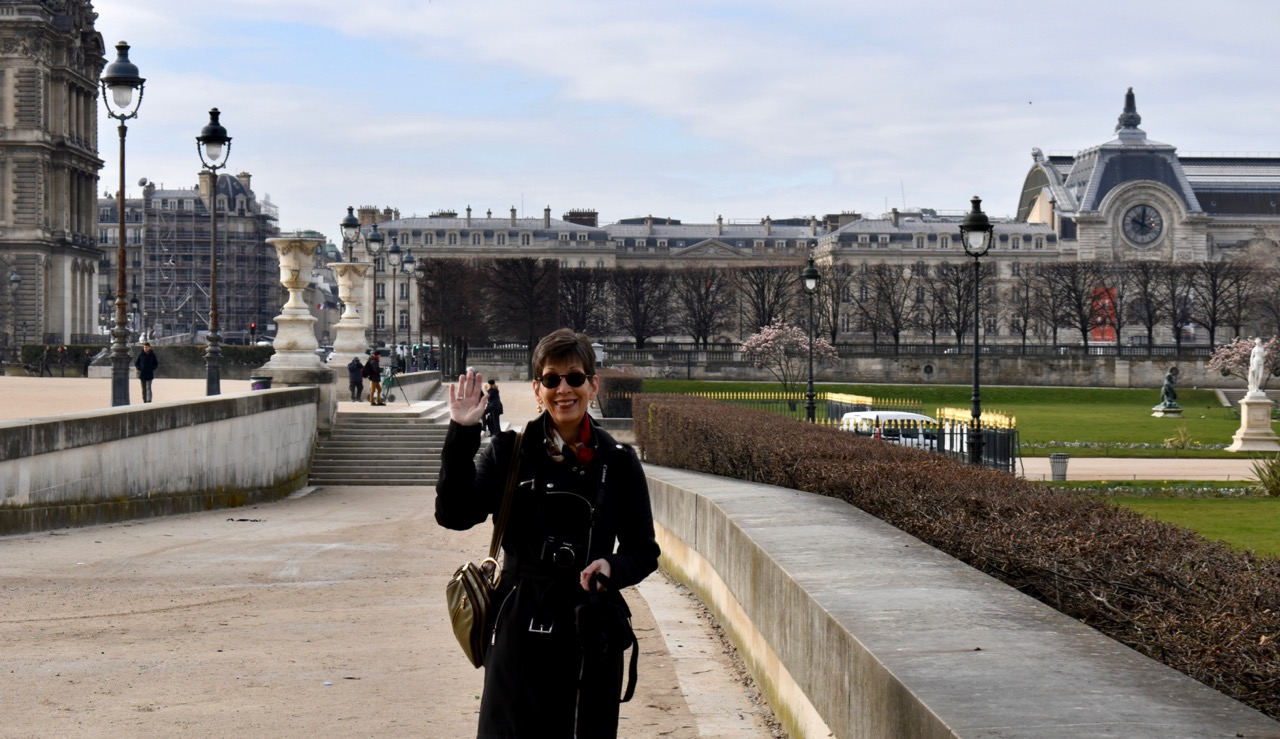 Barb Harmon in Paris
