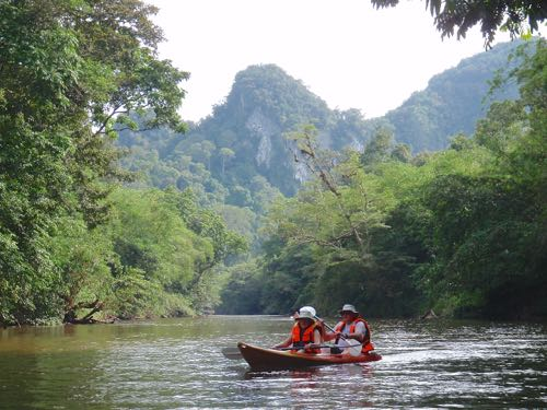 Kayaking adventure in Kuching - Borneo