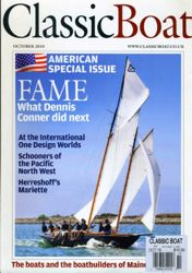 Classic Boat magazine where my article was published.