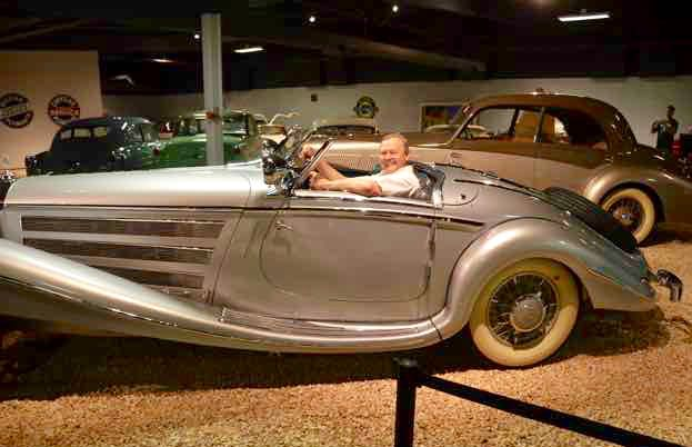 Classic cars are a special interest of mine and I saw them at the car museum in Reno Nevada