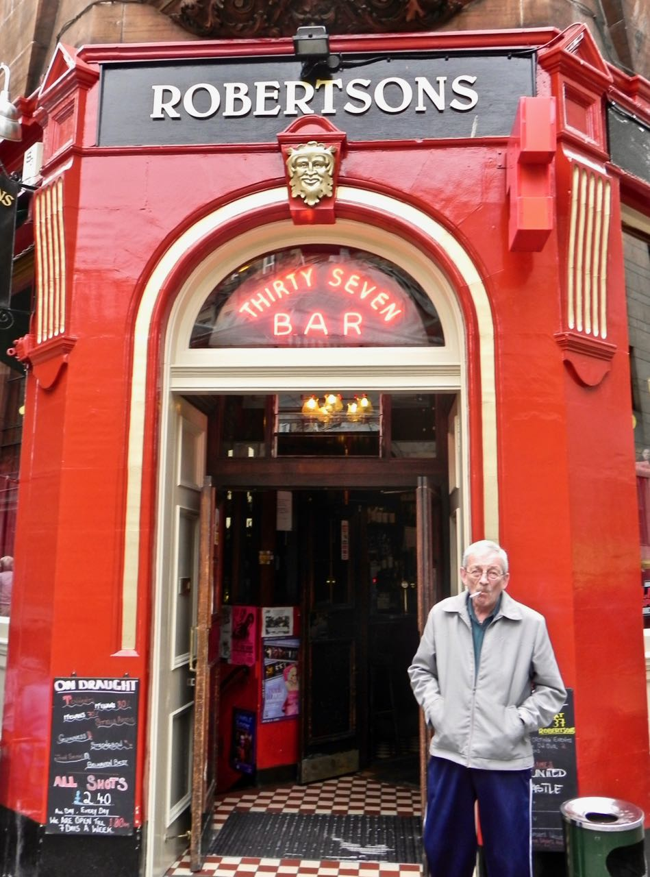 this travel writing assignment included checking out historic pubs