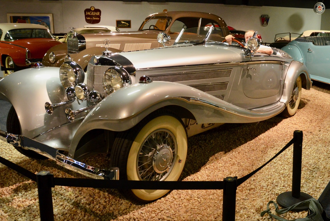 1936 Mercedes Benz roadster