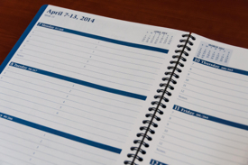 calendar for scheduling tasks