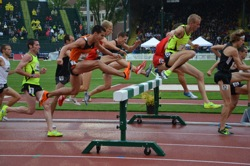 Diamond League track meet