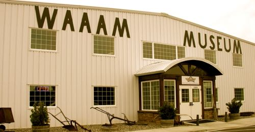 WAAAM museum in Oregon where I get multiple stories published about it