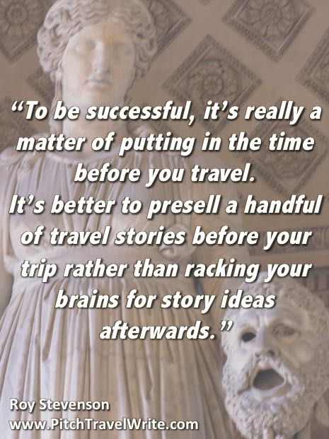 how to be a successful travel writer