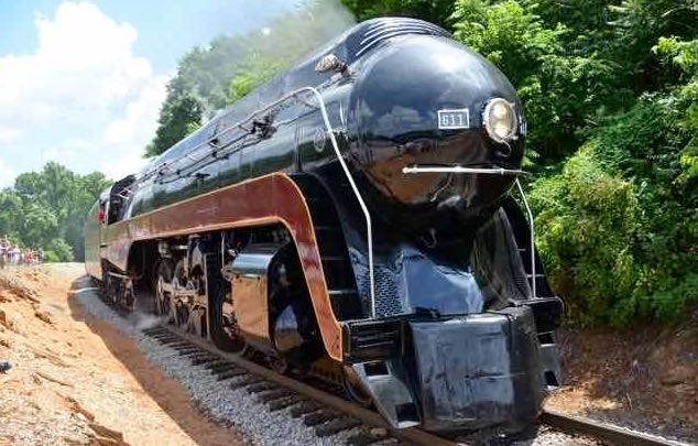 This story idea was about a beautifully restored steam train in Roanoke Virginia