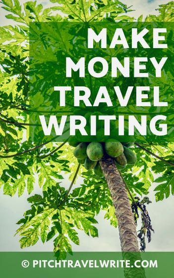 make money travel writing