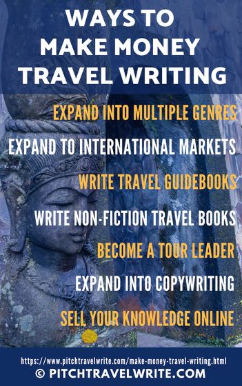 7 ways to make money travel writing