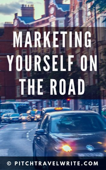 marketing yourself is important whether you're in your office or on the road