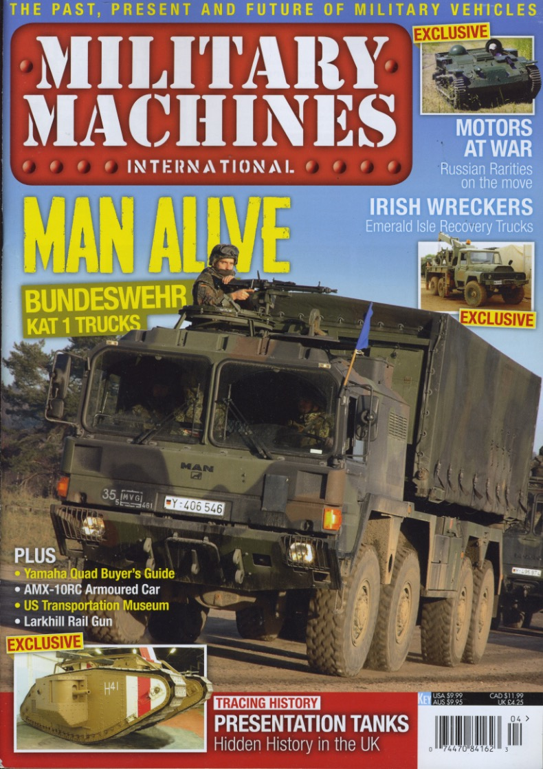 Military Machines International cover