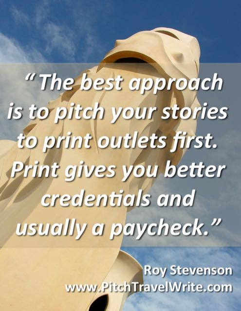 writers should pitch print first and get paid