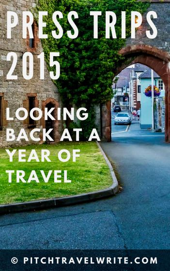 these are press trips 2015 that I went on to give an idea of what's possible