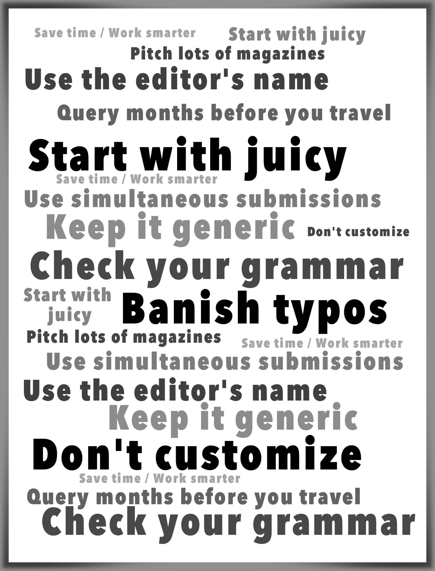 Query letter guide 7 tips for travel writers your query letter guide seven tips for travel writers spiritdancerdesigns Image collections