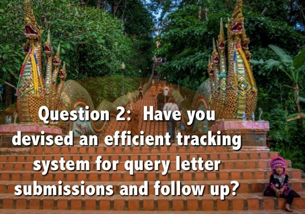 tips about tracking system for query letters