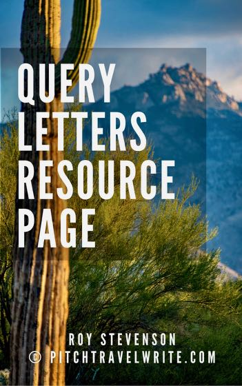 writing a query letter resources for travel writers