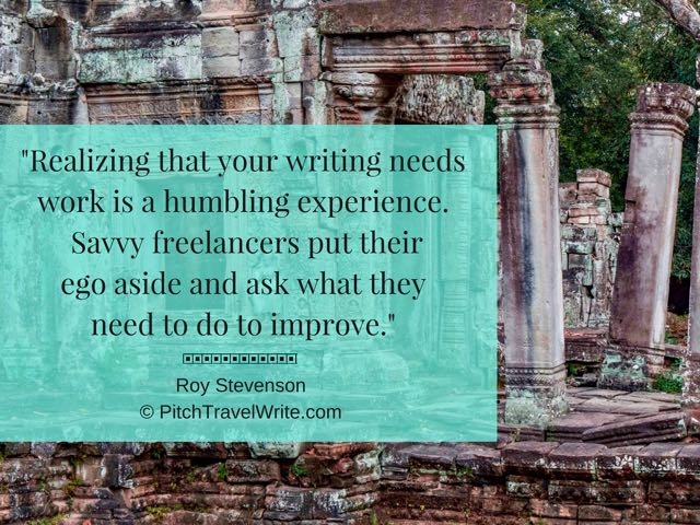 improve your travel writing quote