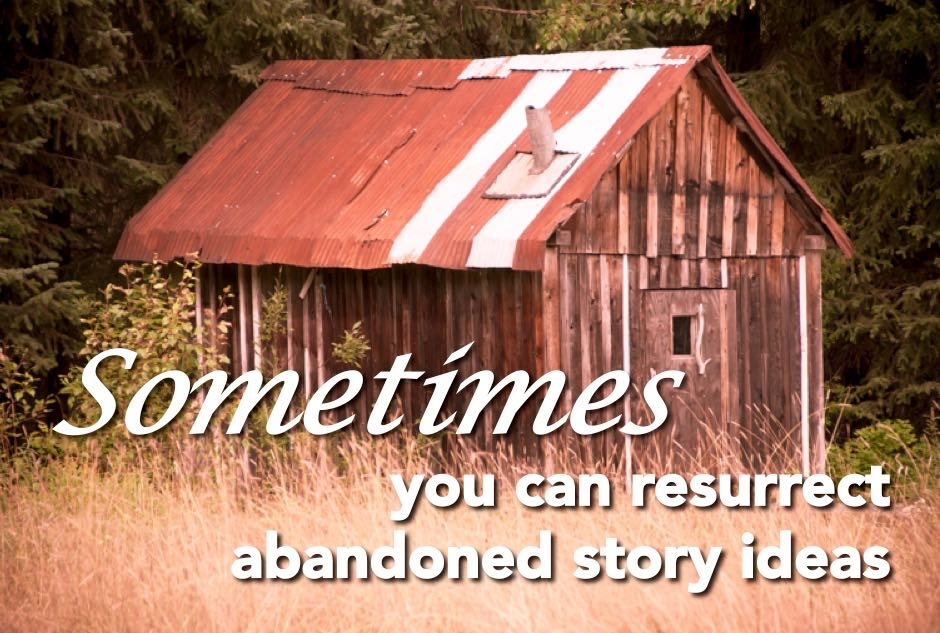 If a story doesn't sell, keep it on file and revisit it later.