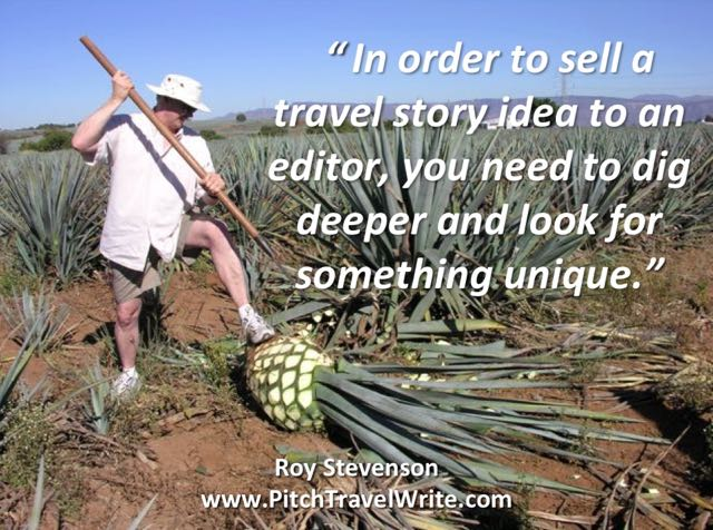 Selling story ideas means digging deep and finding something unique