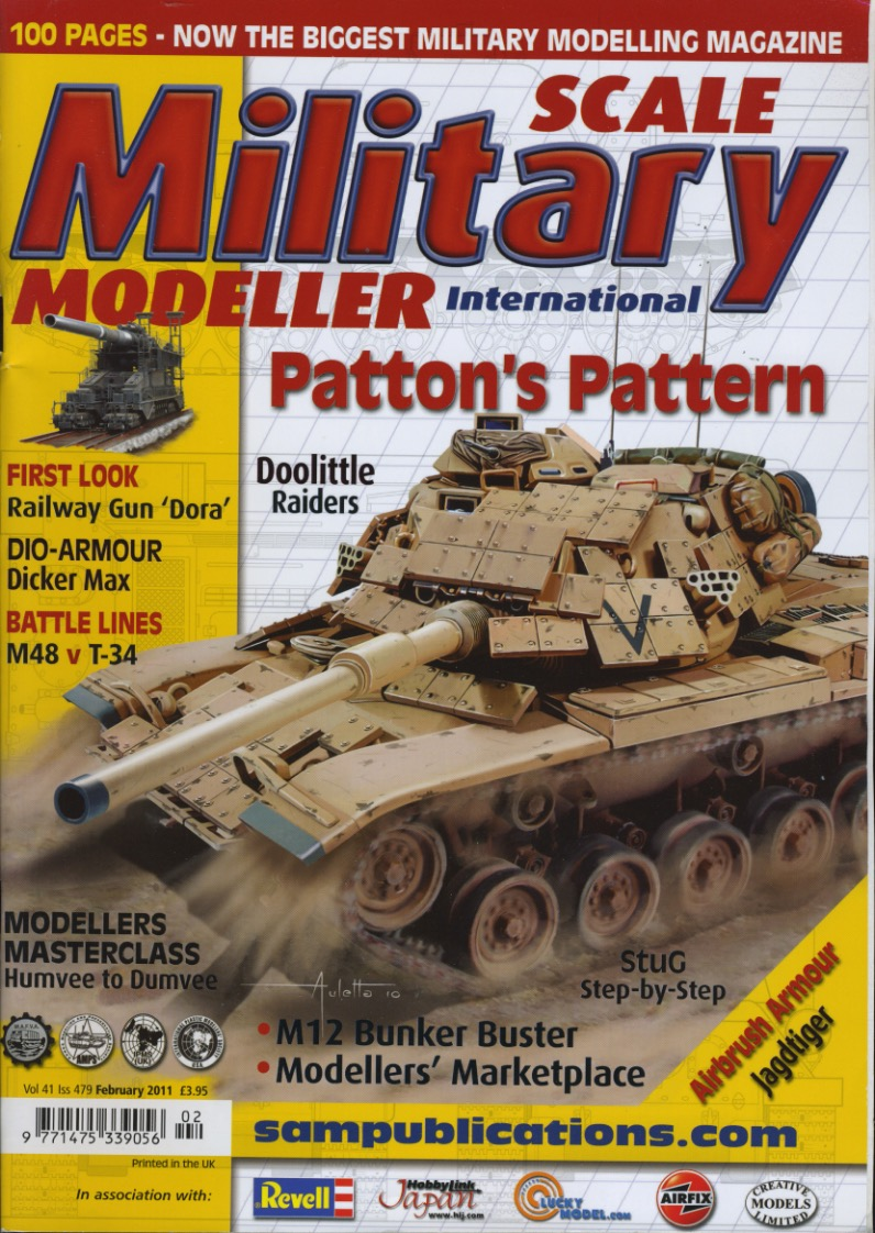 Scale Military Modeller cover