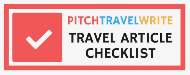 travel article checklist to help you decide if you're done
