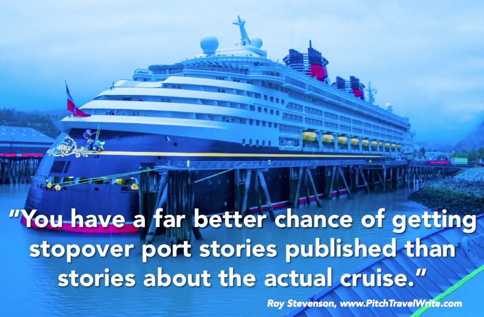 Cruise stories are hard to sell