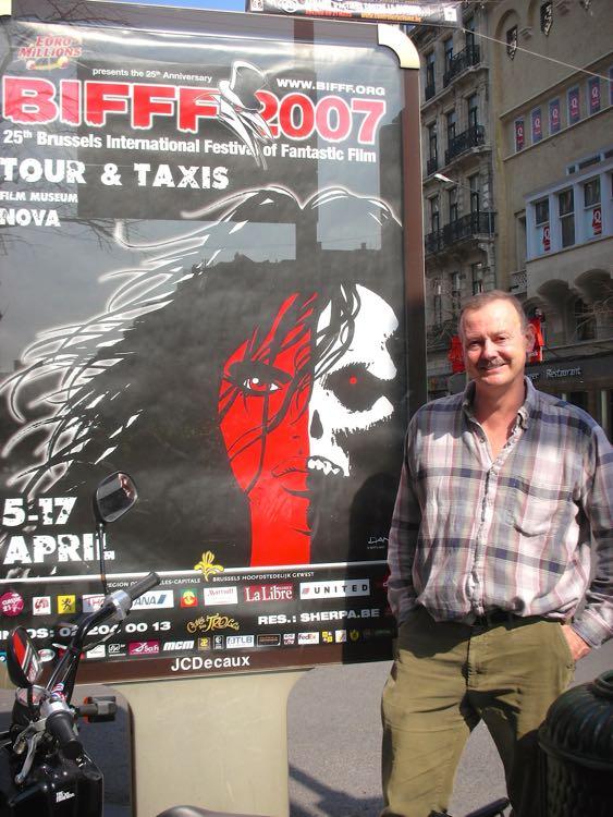 Roy Stevenson in Belgium
