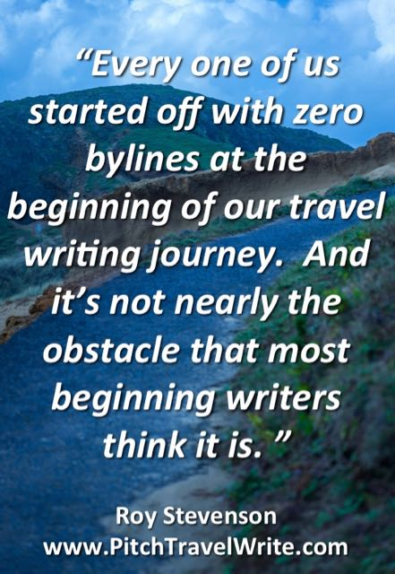 travel writers mistakes include saying you have no bylines