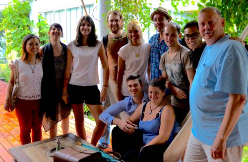 Chiang Mai writer's group.