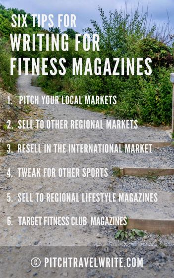 six tips for writing for fitness magazines