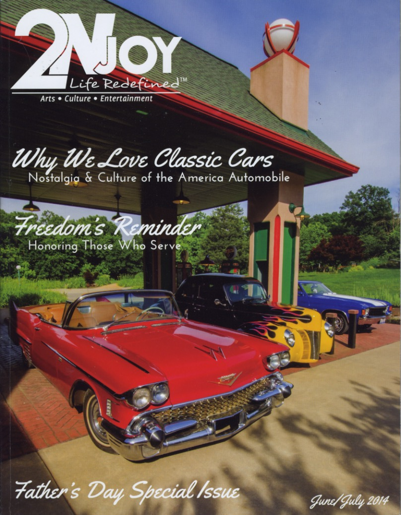 2NJoy cover about nostalgic vehicles
