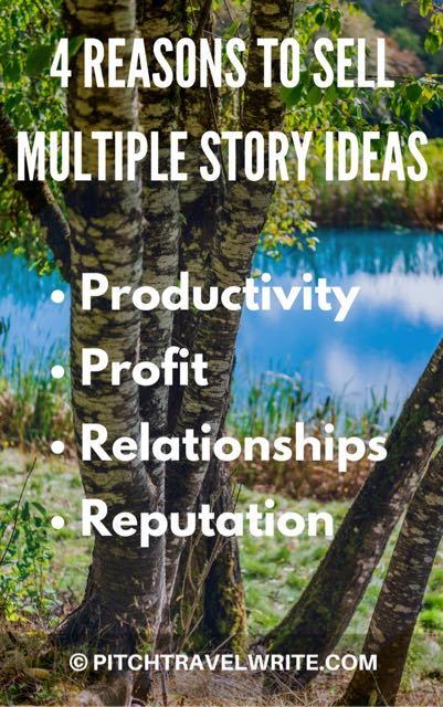 here are 4 reasons to sell multiple story angles about a destination