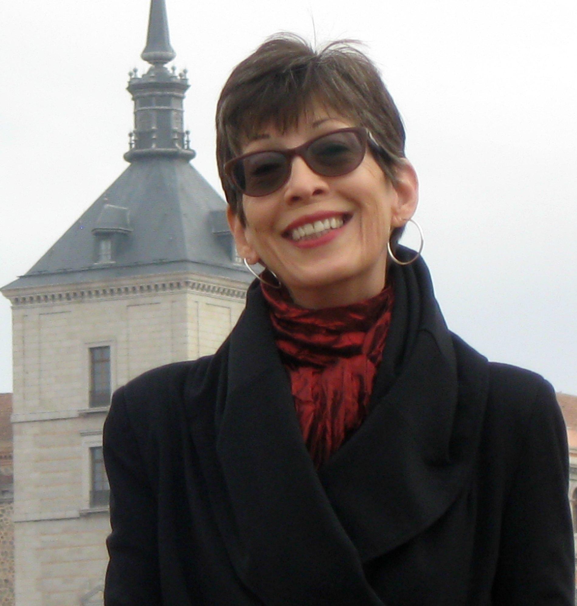 Headshot of Barb Harmon in Spain