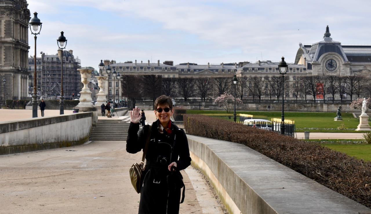 Barb Harmon in Paris
