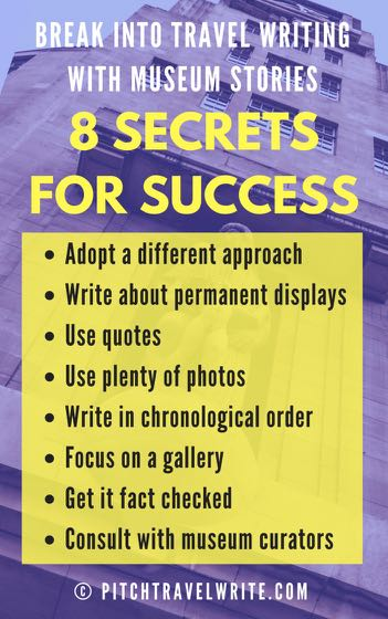 writing museum stories - 8 secrets for success