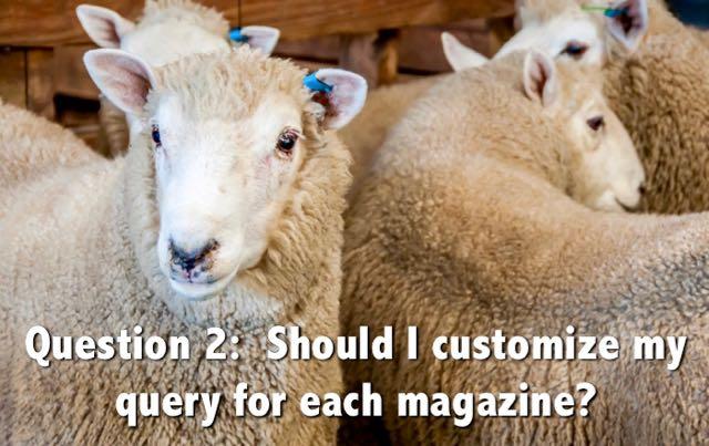 customizing simultaneous queries